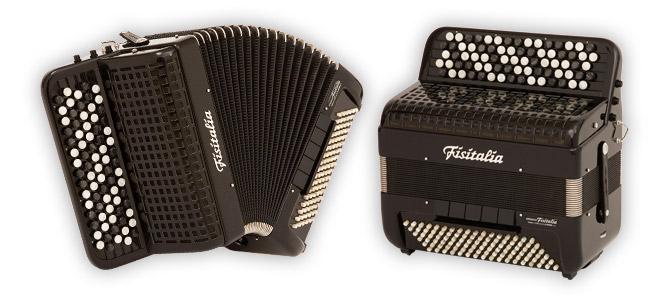 Modell 46.24FB | Knopf-Convertor-Akkordeon (102-Bass)