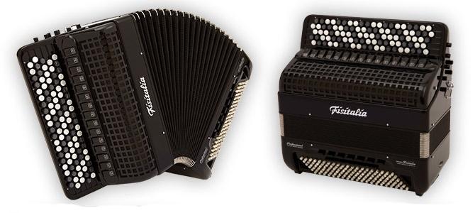 Modell BAYAN-B61 | Knopf-Convertor-Akkordeon-Cassotto (120-Bass)
