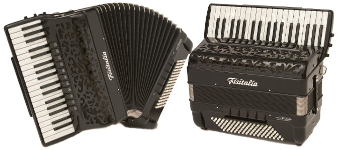 Modell 37.44FB | Piano-Convertor-Akkordeon (96-Bass)