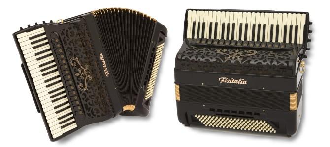 Modell BAYAN-EVO | Piano-Convertor-Akkordeon-Cassotto (120-Bass)