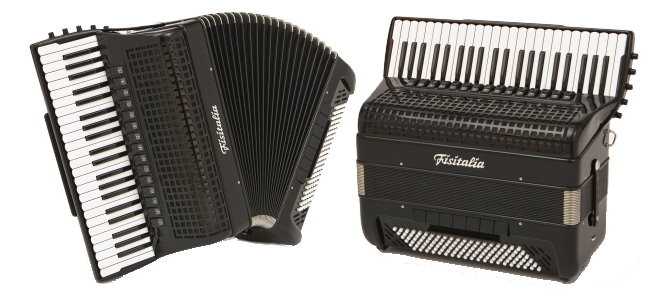 Modell BAYAN-P2 | Piano-Convertor-Akkordeon-Cassotto (120-Bass)