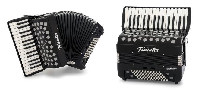 Modell UNICA-P | Piano-Convertor-Akkordeon (66-Bass)