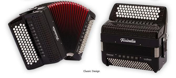 Modell 41.45-CR | Knopf-Standardbass-Akkordeon (96-Bass)