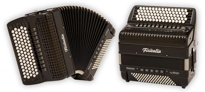Modell 42.45-TC | Knopf-Standardbass-Akkordeon-Cassotto (96-Bass)