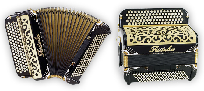 Modell 52.45 | Knopf-Standardbass-Akkordeon (120-Bass)