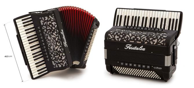 Modell 41.45-KR (Compact-Ausführung) | Piano-Standardbass-Akkordeon (120-Bass)