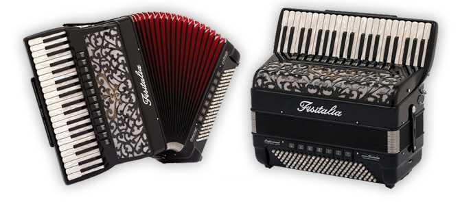 Modell 41.45-TC | Piano-Standardbass-Akkordeon-Cassotto (120-Bass)
