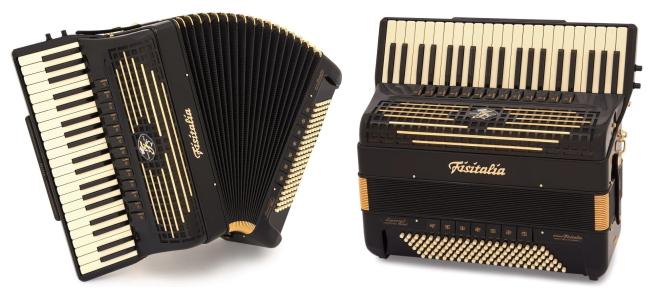 Modell Supertone Classic   Piano-Standardbass-Akkordeon-Cassotto (120-Bass)