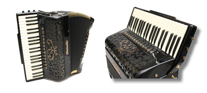 Modell Supertone Classic | Piano-Standardbass-Akkordeon-Cassotto (120-Bass)